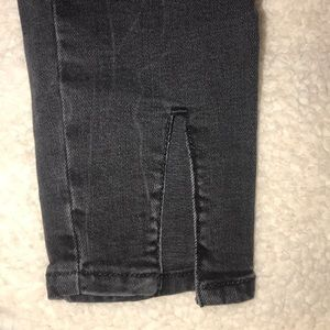 NWOT Zara Dark Gray Denim Jeans